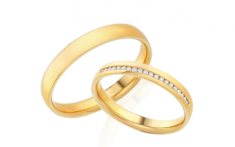 Diamantové snubní prstýnky 0,100 ct Yasmine diamonds 3 mm IZOBBR025