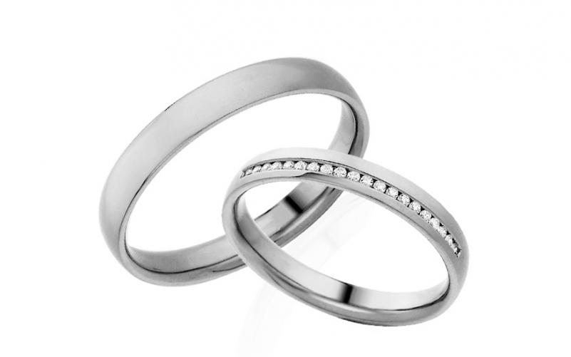 Diamantové snubní prstýnky 0,100 ct Yasmine diamonds 3 mm IZOBBR025A