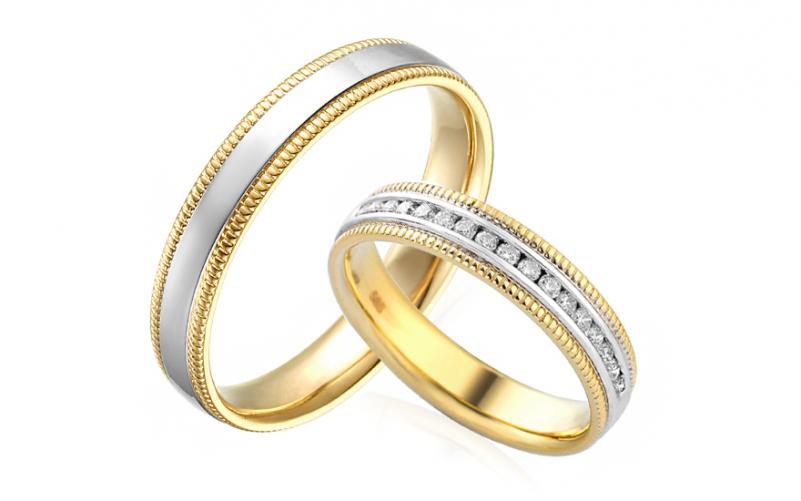 Diamantové snubní prstýnky 0,200 ct Yasmine diamonds 4 mm IZOBBR022AY