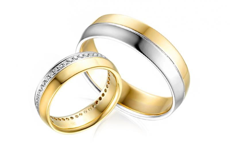 Diamantové snubní prstýnky 0,350 ct Yasmine diamonds 4,8 mm IZOBBR035