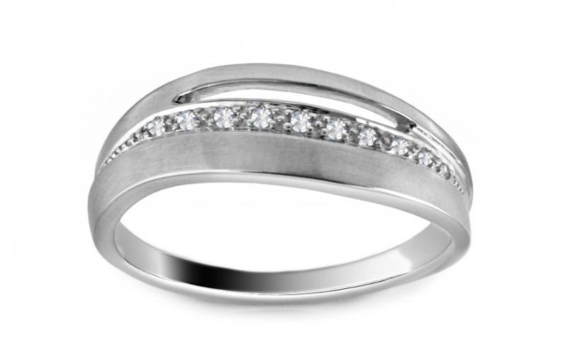 Diamantový prsten 0,050 ct Deluxe Line DB0014A