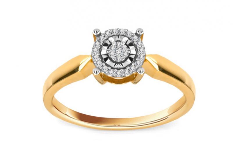 Diamantový prsten Magic Moment 0,090 ct KU203