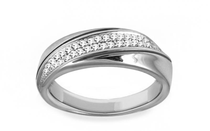 Diamantový prsten 0,150 ct Delux white Vision DB0012A