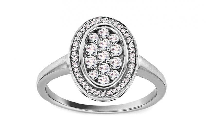 Diamantový prsten 0,480 ct Katelynn KU650A