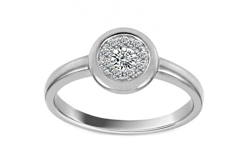 Diamantový prsten Cynthia 0,200 ct KU188PN