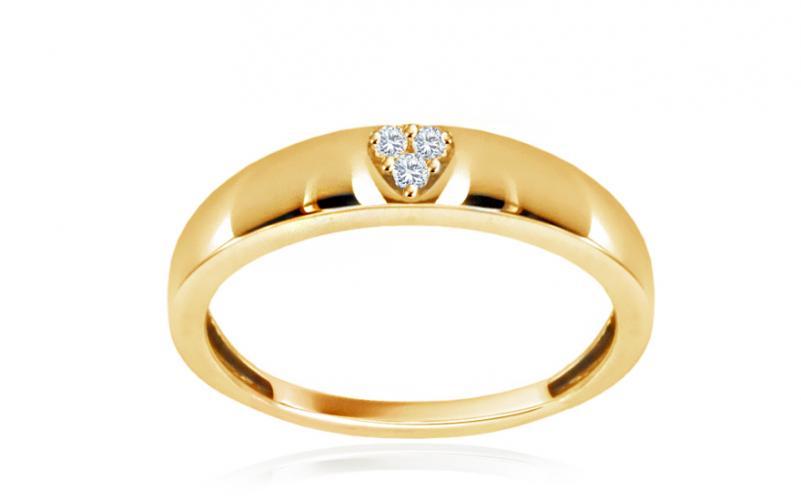 Diamantový prsten Heart 0,025 ct CSBR58Y