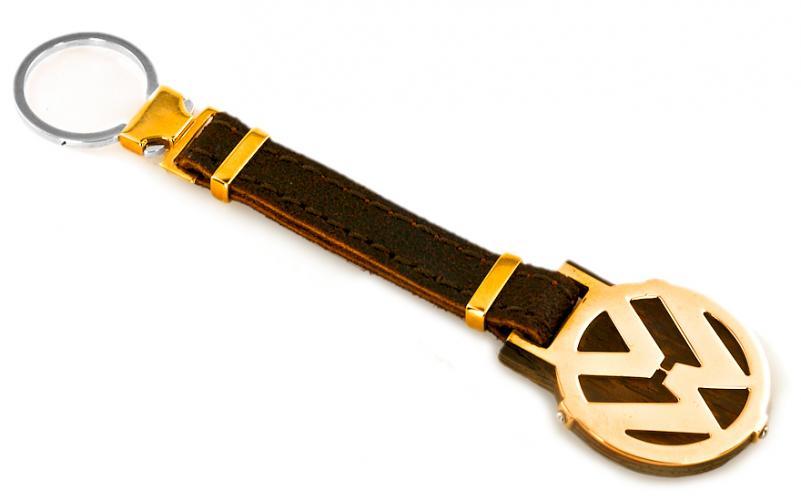 Ebenová klíčenka se zlatem Crocodile Dundee 1 IZ6590