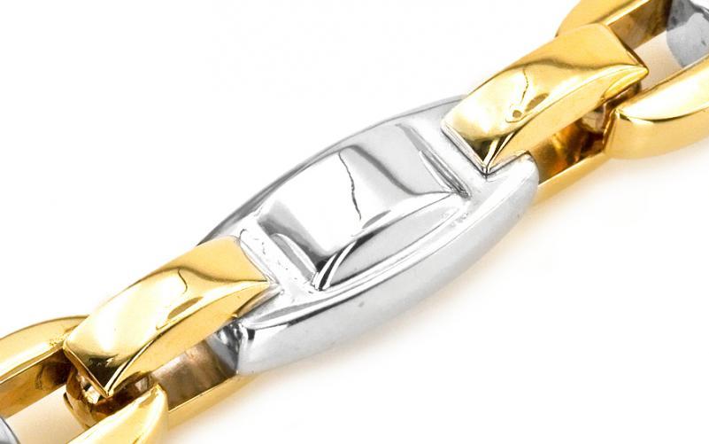 Masivní řetěz kombinované zlato IZ4349