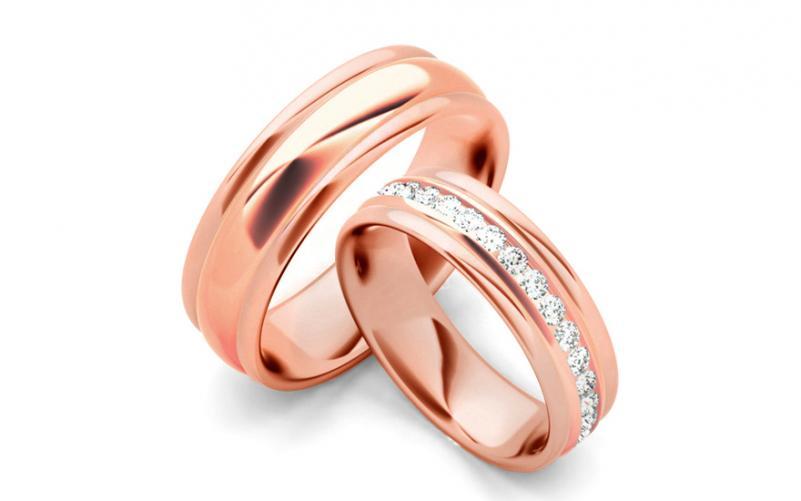 Snubní prstýnky s diamanty 0,960 ct šířka 6 mm STOBR083RS