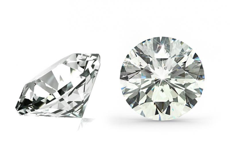VS1 J 0.16 ct diamant certifikát EGL brus Round IZDI1729