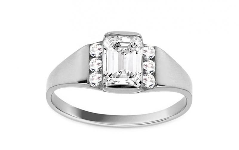 Krásný zásnubní prsten Isar 26 CSRI93A