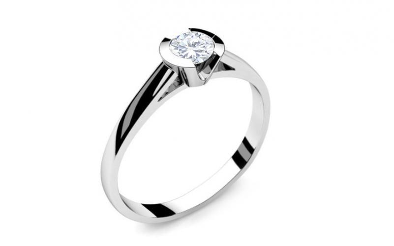 90af58c1f Zásnubní prsten s 0,230 ct diamantem Power of love 4 LRBR009