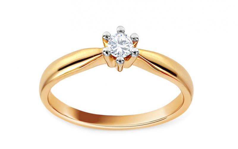 574927e05 Zásnubní prsten s diamantem Christine KU514