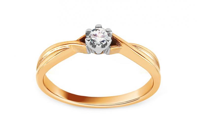 Krásný zásnubní prsten Ramona 3 CSRI11