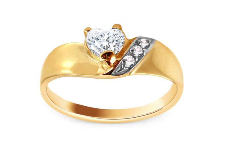 Krásný zásnubní prsten Anabel 3 CSRI247