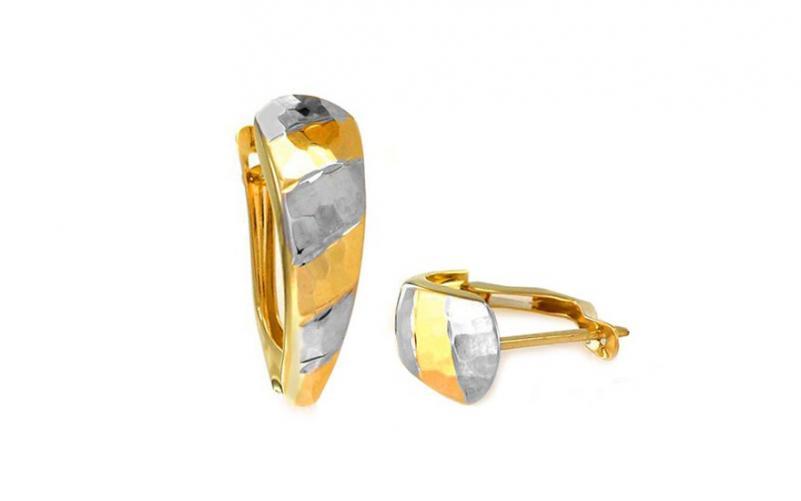 Zlaté náušnice Nelisie 1 IZ8556