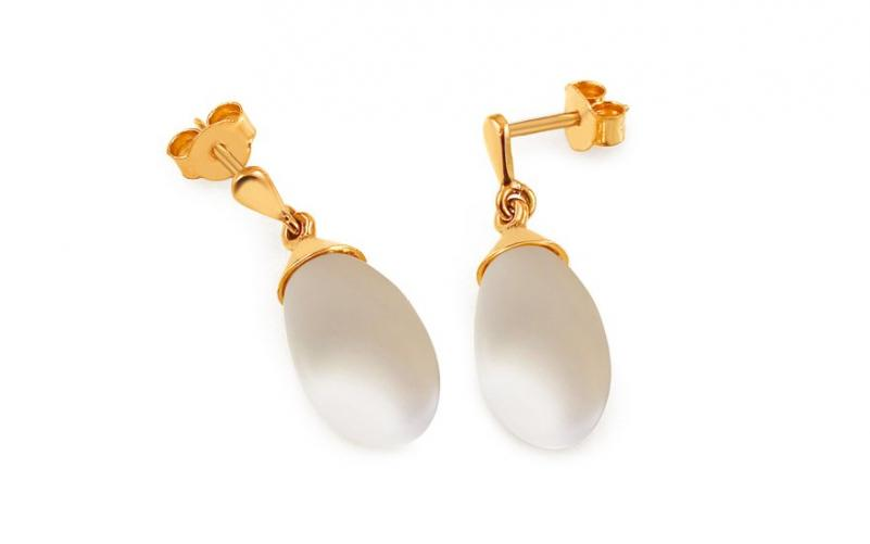 Zlaté perlové náušnice Wenona 1 PE165N 8277be1e2ca