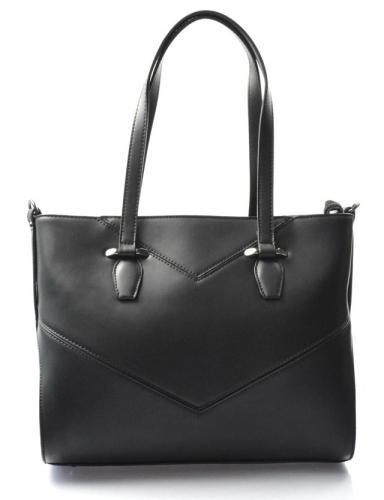 Elegantní černá kabelka liz