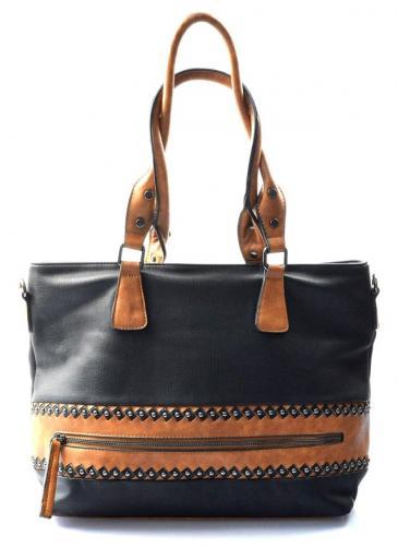 černá kabelka na rameno levis two