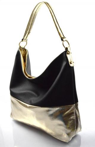 černá kabelka na rameno Mina