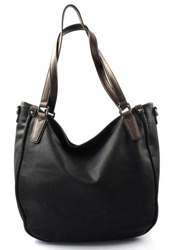 krásná černá kabelka na rameno regina
