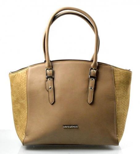 Elegantní hnědo-béžová kabelka Selena