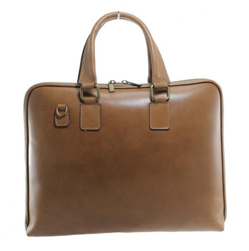 Kožená béžová kabelka do ruky michel