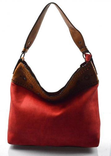 červená kabelka na rameno Amyan