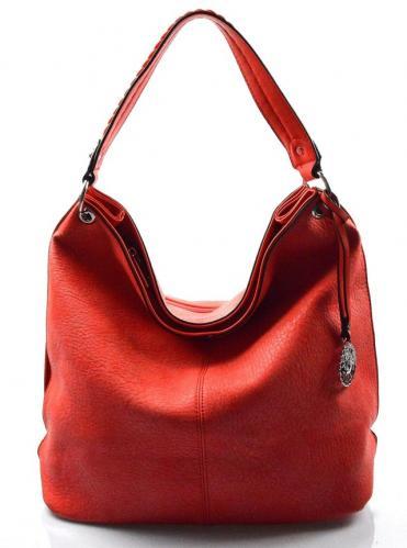 stylová červená kabelka na rameno alisa