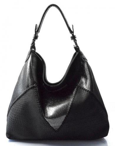 černá designová kabelka salena
