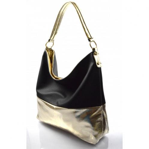 černá kabelka na rameno Mina Valeria 27935