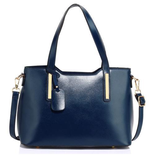 Modrá dámská moderní kabelka přes rameno Magilla