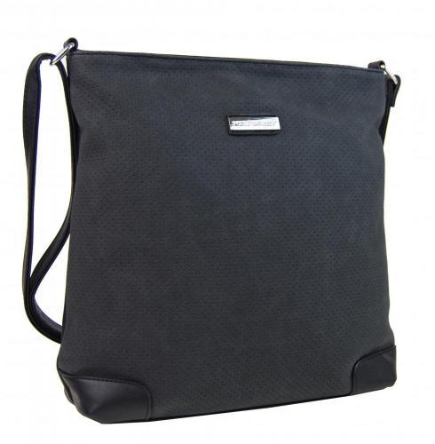 Černá vzdušná dámská crossbody kabelka Invoen