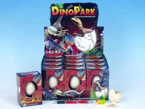 Dinosaurus líhnoucí se a rostoucí 6x4,5cm