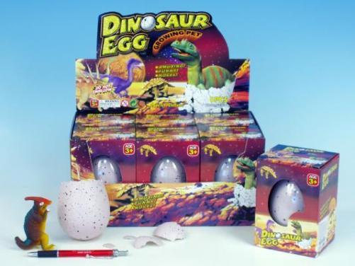 Dinosaurus líhnoucí a rostoucí 11x8cm JUMBO v krabičce