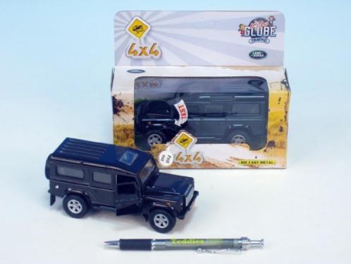 Auto Land Rover kov na zpětné natažení na baterie se zvukem se světlem asst 3 barvy