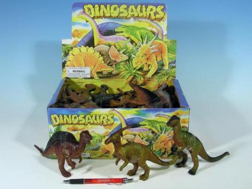 Dinosaurus 21cm, asst 12dr.