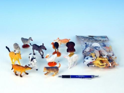 Zvířátka Farma plast 5-9cm 8ks v sáčku