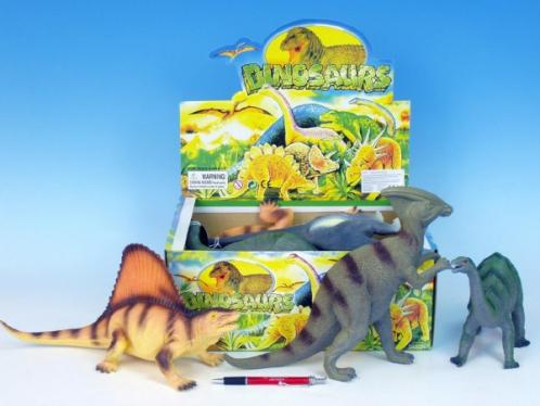 Dinosaurus plast 33-41cm asst 12 druhů