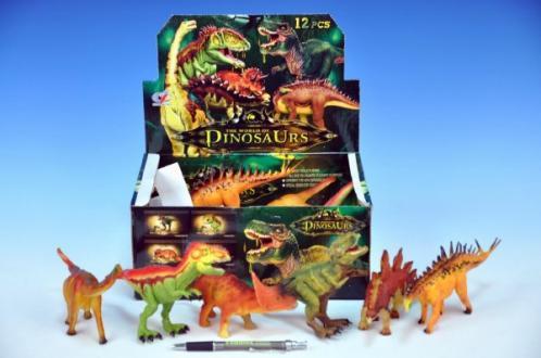 Dinosaurus plast 15-18cm asst 6 druhů