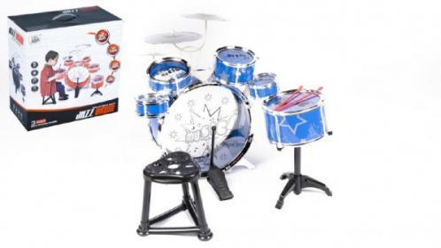 Bicí souprava/bubny 6ks plast