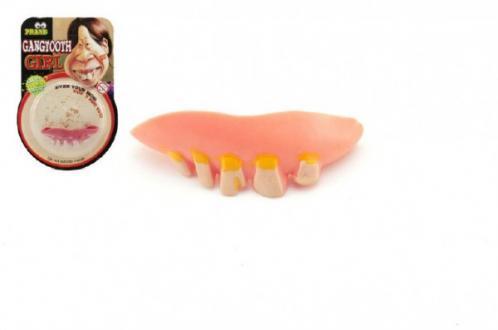 Zuby žertovné gumové asst 2 barvy