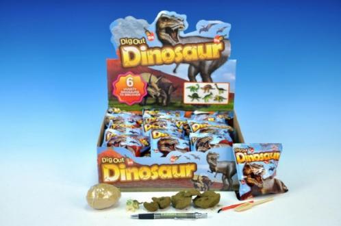 Dinosaurus vejce zkamenělina v sáčku asst
