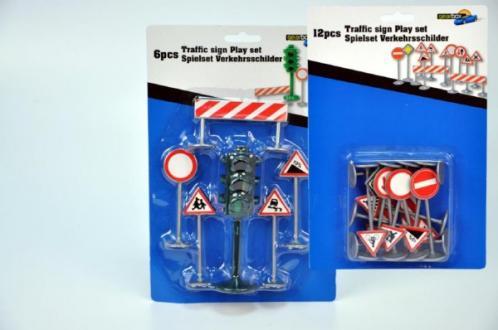 Dopravní značky plast asst 2 druhy