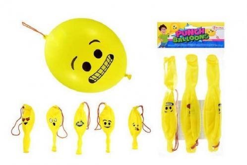Boxovací balonky s obličejem 3ks v sáčku