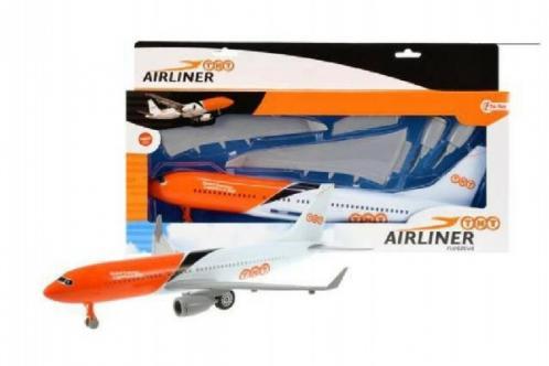 Letadlo plast 36cm na setrvačník