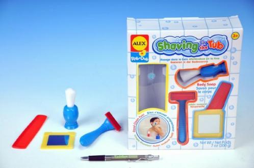 Doplňky k holení pro děti plast 19x23cm