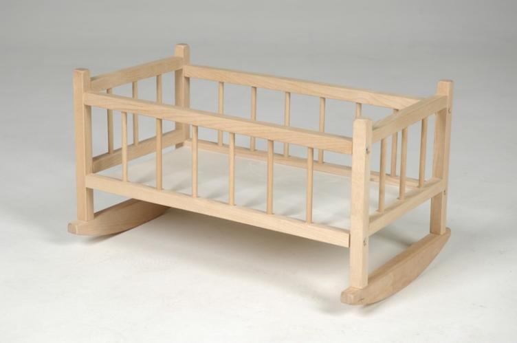 Kolébka dřevěná pro panenky