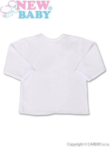 Bílá kojenecká košilka vel. 62 New Baby