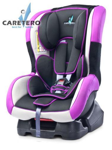 Autosedačka CARETERO Fenix New purple 2016 + dárek Fialová